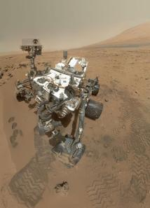 Curiosity's amazing self-portrait from a few weeks ago. Credit: NASA/JPL