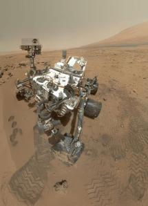 Curiosity's amazing self-portrait from a few weeks ago. Credit: NASA/JPL